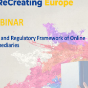 Public and Regulatory Framework of Online Intermediaries: Workshop Report